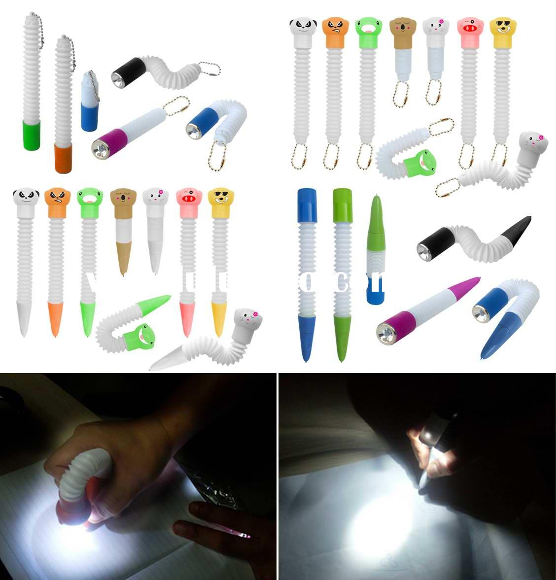 foldable LED key chain and pen
