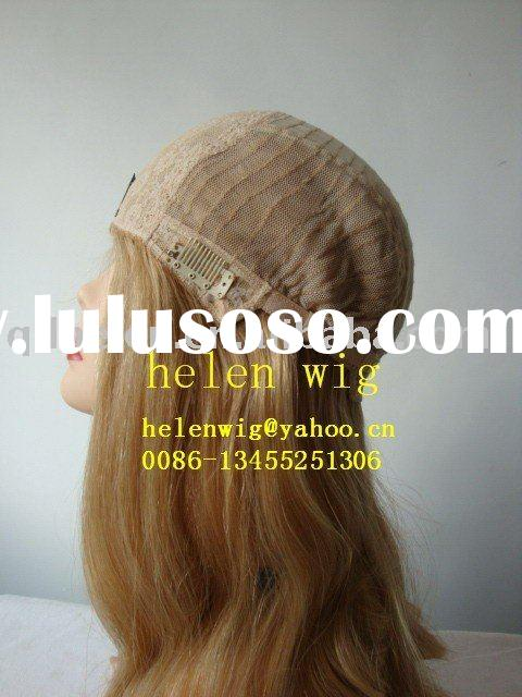 glueless jewish lace wig cap making materials factory