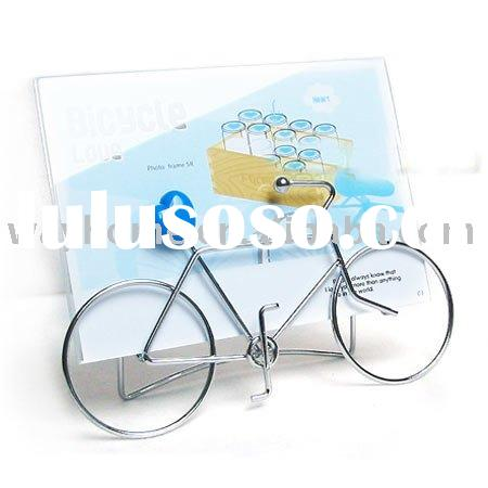 metal bicycle photo picture frame,promotional gift,Key Chain Keyring photo frame,photo holder,album,