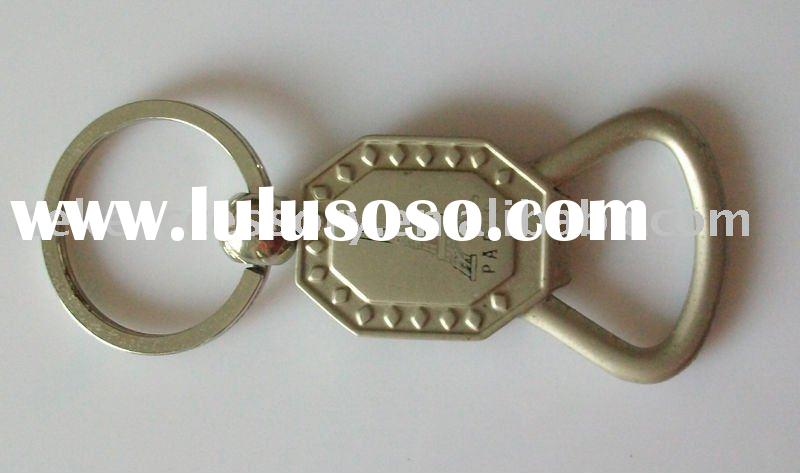 metal bottle opener key chain with customized logo