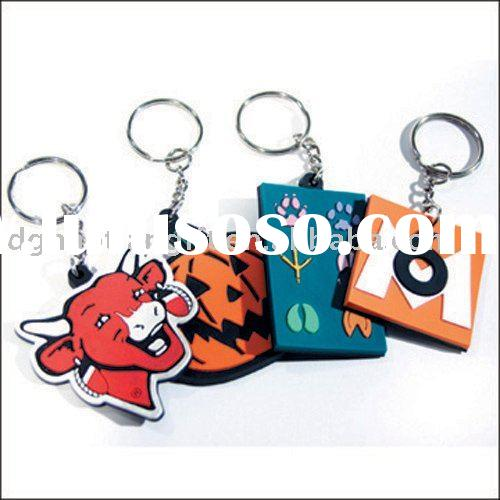 soft pvc key chain/key ring