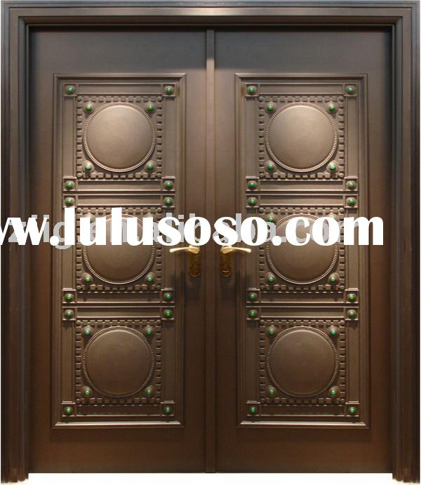 steel double door,security steel door, exterior doorZY-SD008