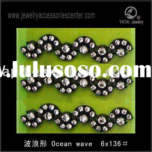 discount fashion plastic rhinestone trimming wholesale