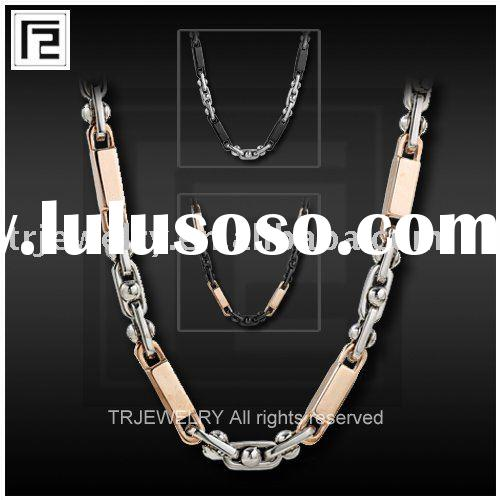 rose gold stainless steel Necklace Chain