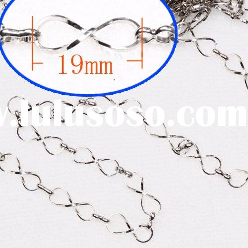 wholesale useful jewerly  findings  silver  plated   Bulk Chain