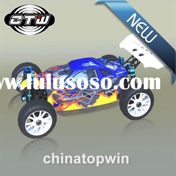 1:8 Scale Lightweight Nitro Gas Rc Cars Hobby Powered Off-Road Buggy(AM) Simple version