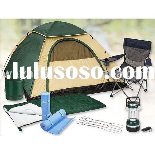 2 Person Camp Set,camping kit,tent,sleeping bag,camping lattern,hunting tools,hiking kit,outdoor sup