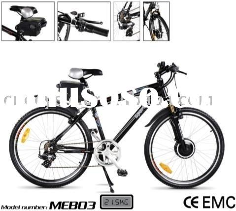 DIY electric bicycle conversion kit with Li-ion battery pack