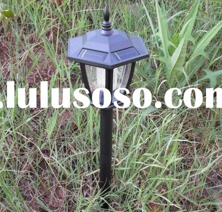 NEW!Outdoor Garden Solar Lamp Lawn Light Wall Light 4 LED Lamp