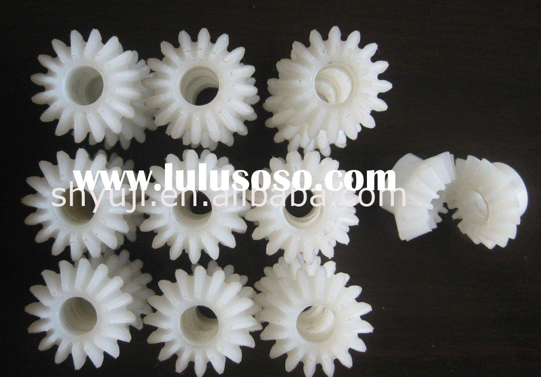 Plastic gear , plast bevel gear , plastic spur bevel gear