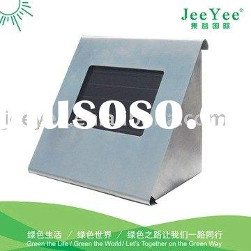 Stainless steel wall mounted solar light