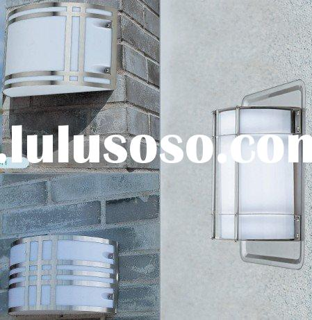 new stainless steel  warm white outdoor wall light