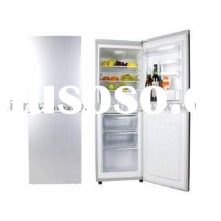 140L bottom freezer refrigerator, fridge, double door refrigerator