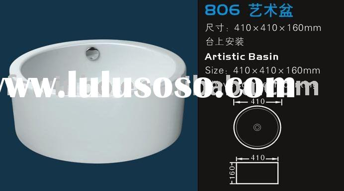 Ceramic artistic basin 806