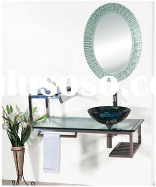 Glass sink,glass vanity,glass basin,glass wash basin,bathroom sinK