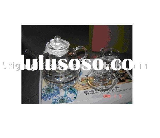 Heat resistance glass tea pot / tea set