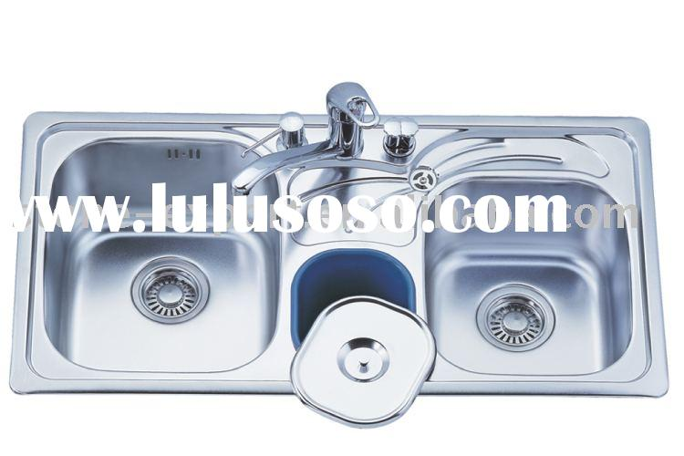 Kitchen Stainless Steel Sinks With Accessories