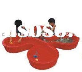 Rotation-molding kids' amphibious plastic basin /plastic product /child toy