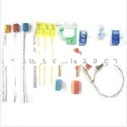 Security Container Bolt Seal, Plastic Seal, Metal Strip