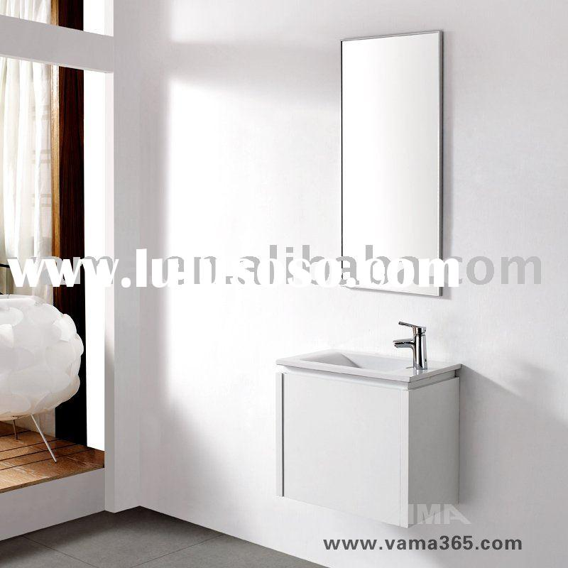 Single basin sanitary furniture cabinet/ bathroom vanity V-14131