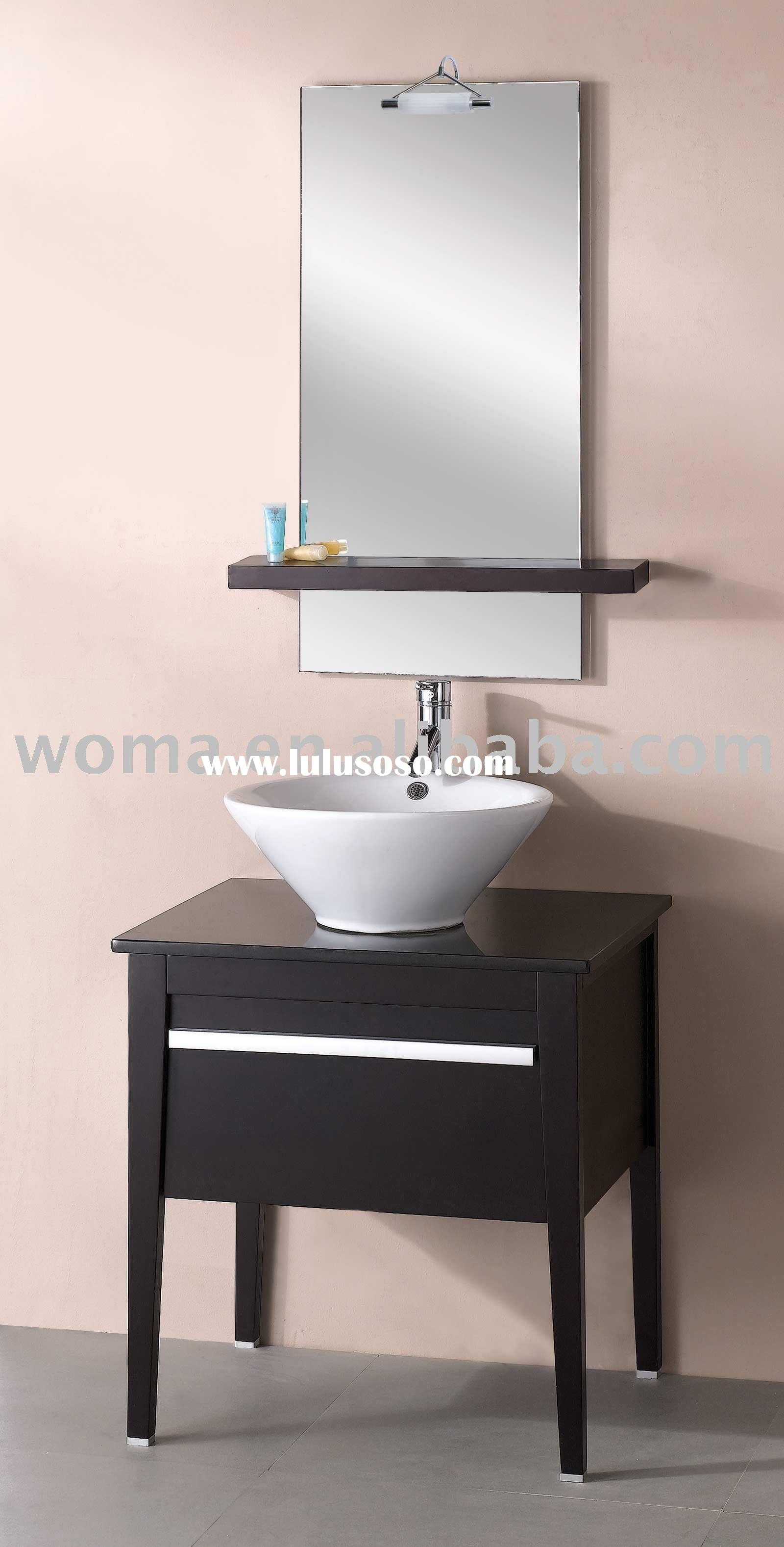 Solid Wooden Cabinet Bathroom Vanity