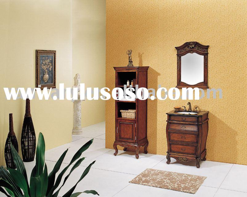 art furniture,home furniture,vanity with basin,bathroom wash table,wooden sanitary ware,mirror cabin