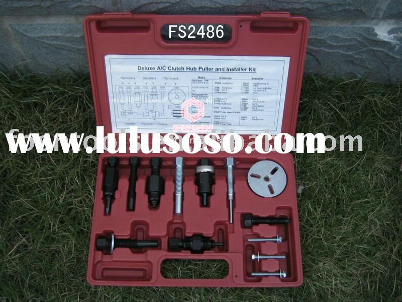 auto repair tool kit (Deluxe A/C Clutch Hub Puller and Installer Kit)