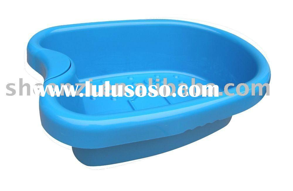 foot basin, foot tub, foot spa, wash tub, foot bath tub