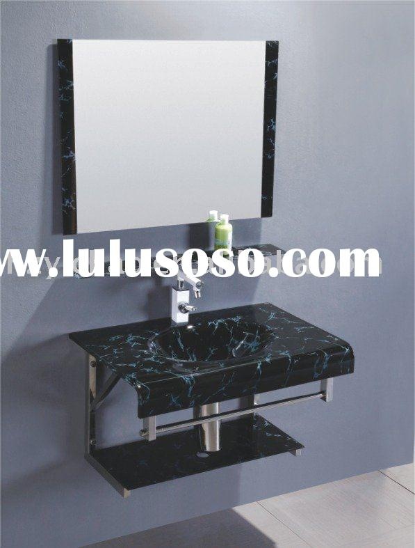 glass basin countertop(DF-6185)