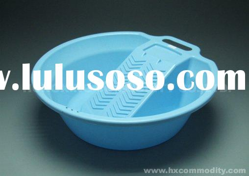 plastic wash tub,washing tub,plastic basin,basin