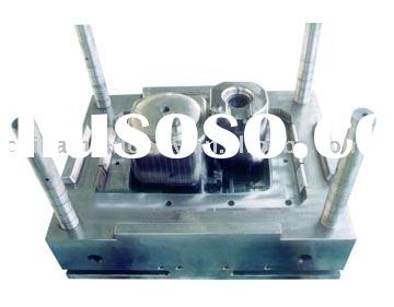 plastic washing maching double tube mould