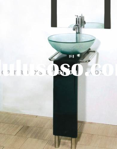 Wash basin with stand wash basin with stand manufacturers for Glass wash basin designs dining room