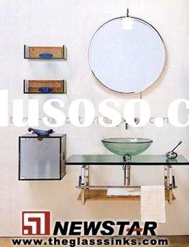 tempered glass sinks,glass wash basin,glass vanity sinks