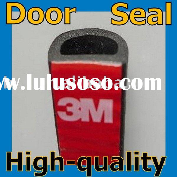 Auto car INTERIOR QUIET SILENT Doors and windows rubber seal DOOR SEALED SEAL BELT strip