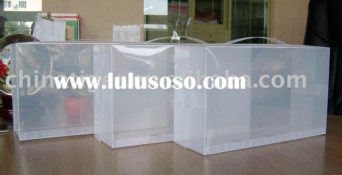 Custom Environmental Clear Plastic Promotional Packaging Box