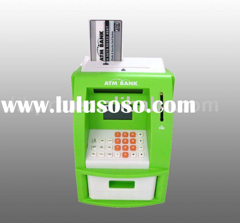 Digital ATM safe box with counting and LCD display Functions