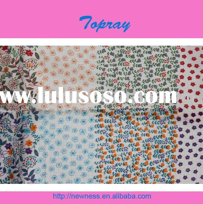 Eco-friendly Printed cotton fabric for dress