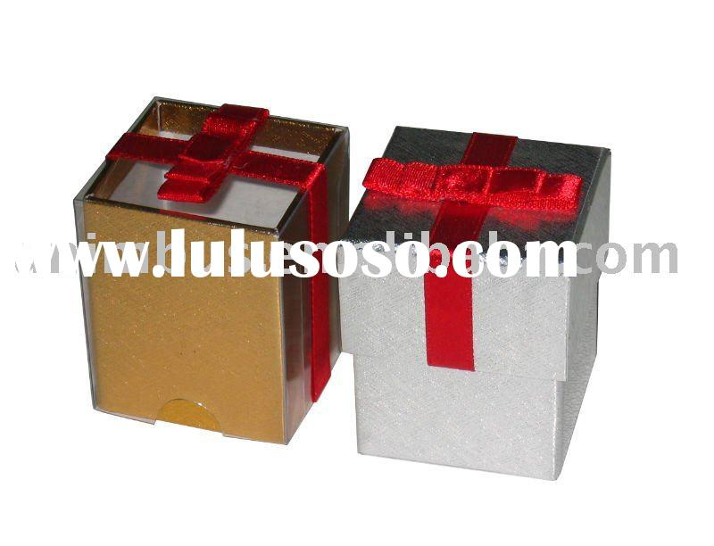 Gift Box With Clear Lid(UGB-06)