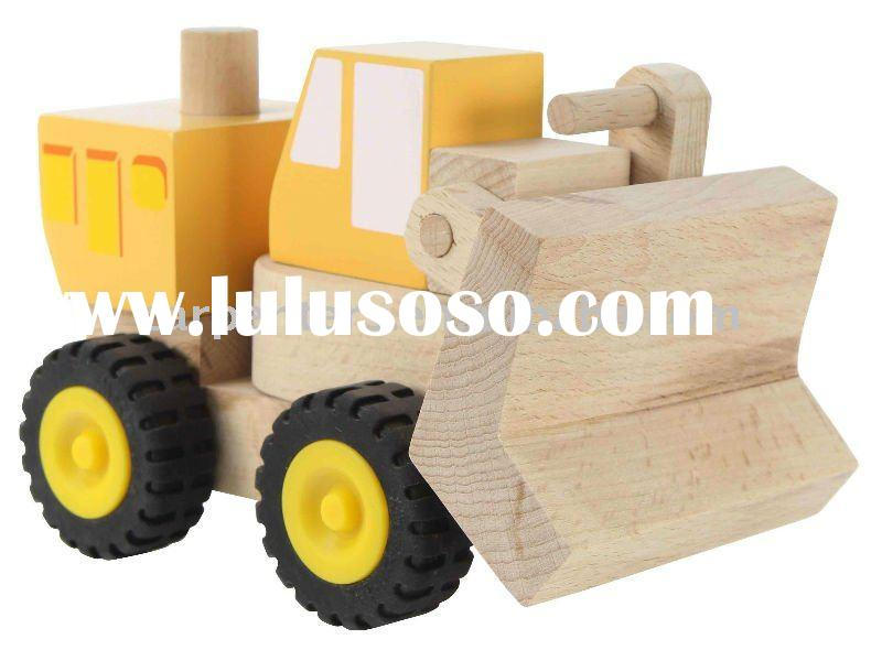 Master Builders - Bulldozer - Wooden Toy Car