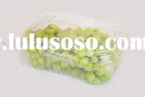 PET food container, fruit clamshell box, disposable container