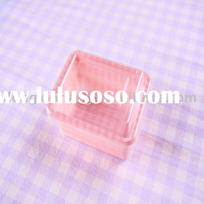 Plastic food container (storage box,bakery packaging)