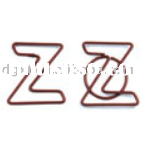 Wire art Paper Clip for promotional gift