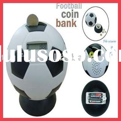 ball shape money box,coin counting money jat,electron money box,