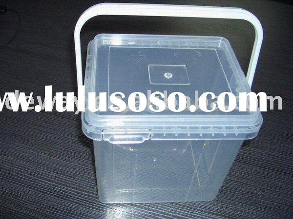 box plastic box with handle plastic container