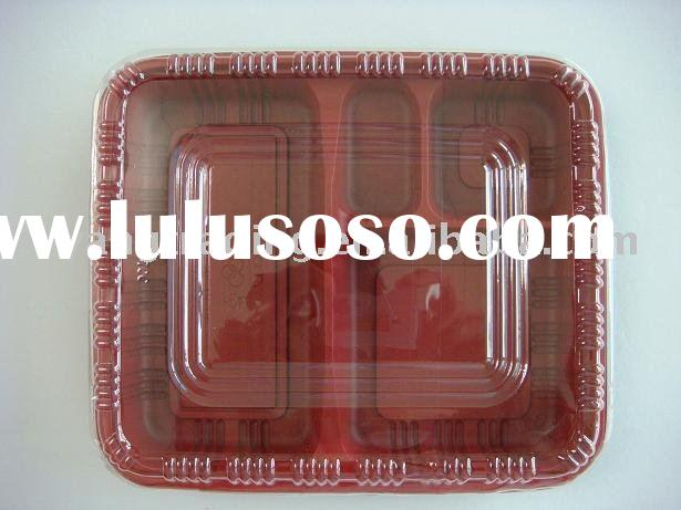disposable lunch box/disposable lunchbox/blister packaging/food container/plastic food box