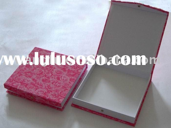 high quality pink paper gift packing box,gift box