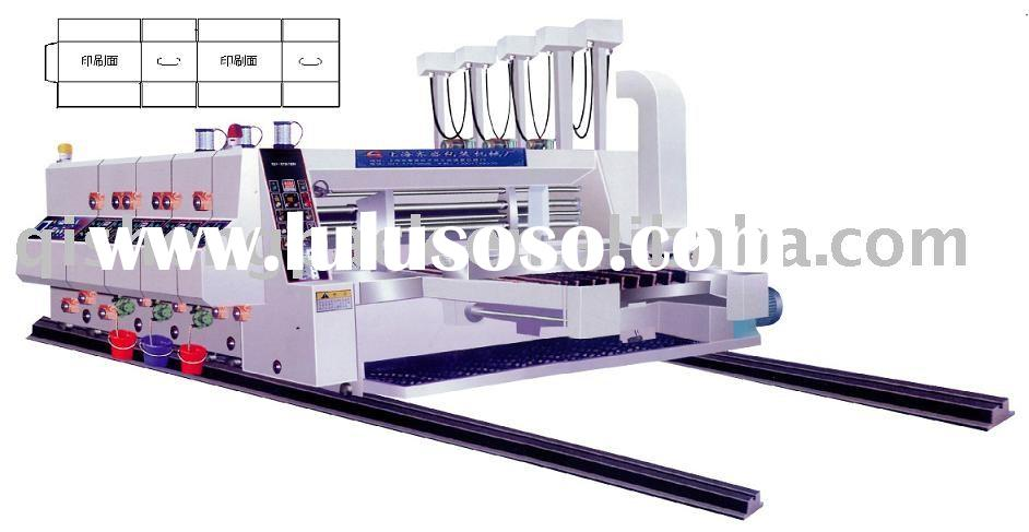 paper box printing machine