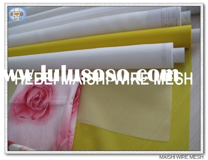 silk-screen printing mesh fabric/ t shirt silk screen