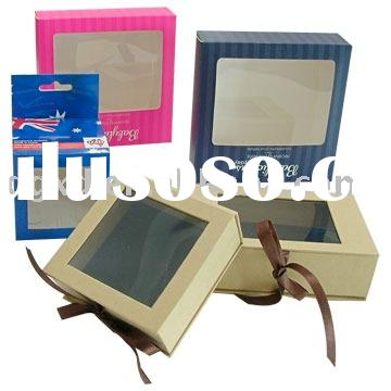 window paper gift  boxes