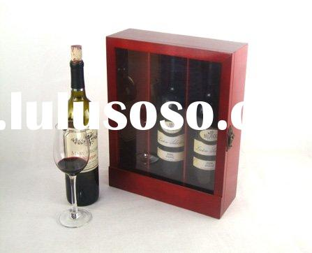 wood wine box/wine case/wine gift box